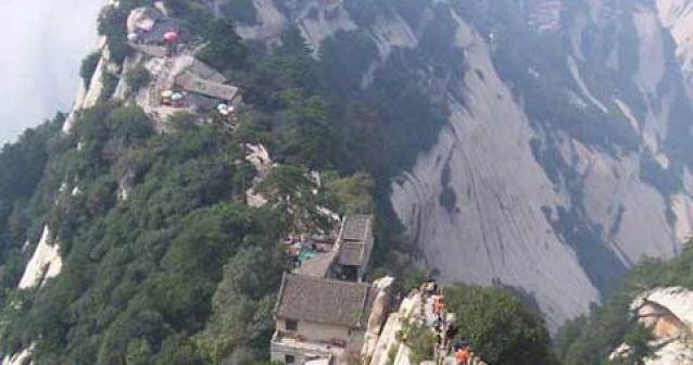 La polución de China causa estragos en las montañas