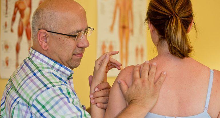 La sanación con las manos