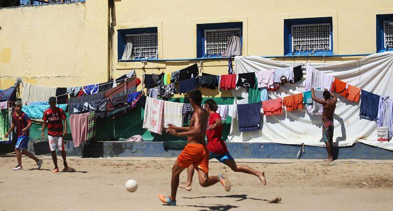 La saturación en la cárcel de Brasil