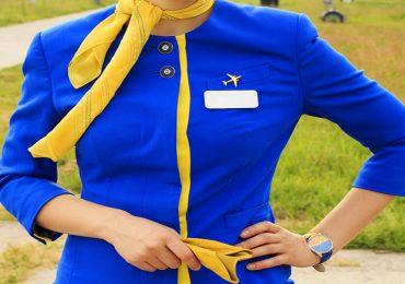 La transformación de los uniformes de las auxiliares de vuelo