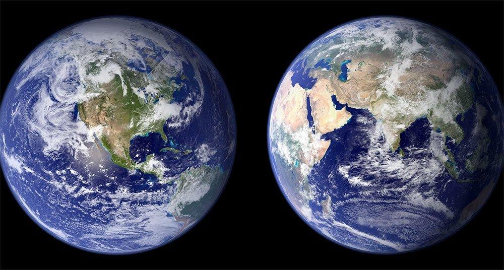 Imágenes de la Tierra Hora del planeta