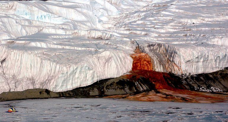 Las Cataratas Sangrientas