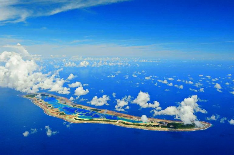 Las Islas de la Línea meridionales