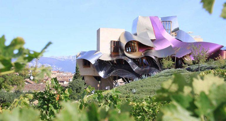 Las bodegas espectaculares en La Rioja
