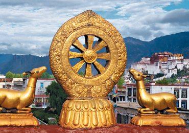 Las escenas del Tibet