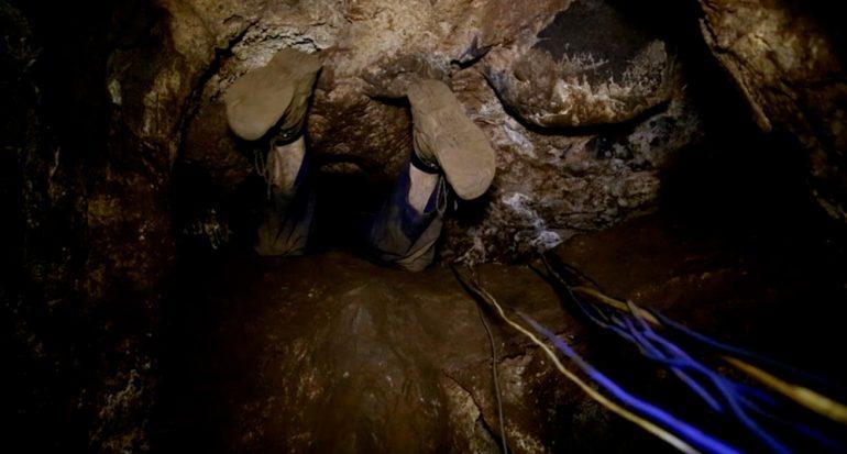 Las exploradoras de la caverna sudafricana