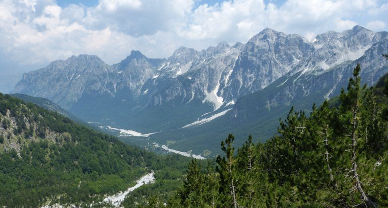 Las montañas encantadas del norte de Albania
