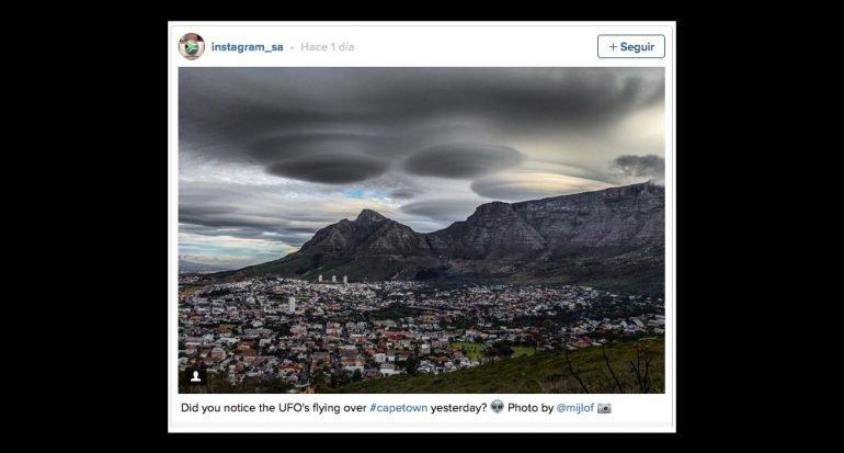 Las nubes ovni son reales. Aquí te lo explicamos