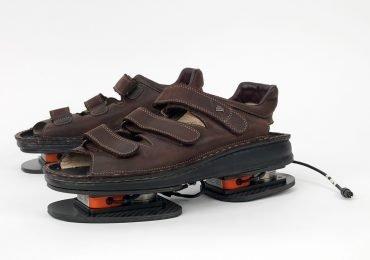 Las sandalias en el espacio