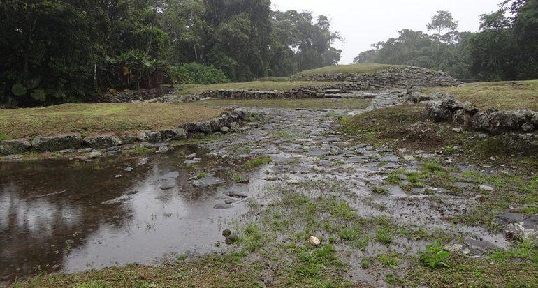 Lluvias inclementes afectan reliquia de Costa Rica