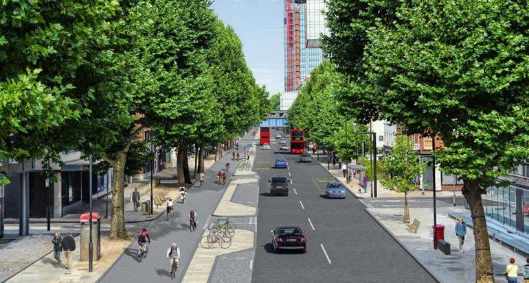 Londres quiere ser paraíso para los ciclistas