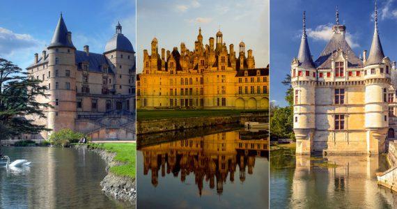 Los 10 castillos de cuento de hadas en Francia