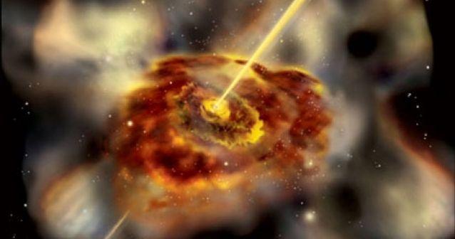 Los agujeros negros generan las partículas más energéticas del universo