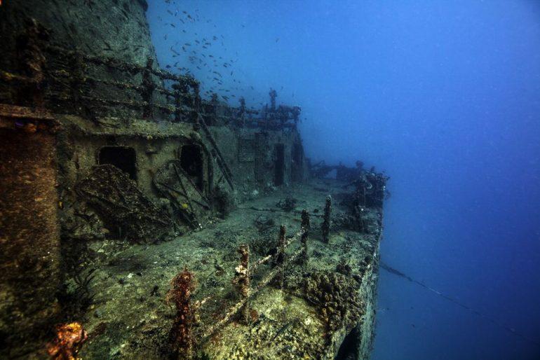 Los barcos hundidos