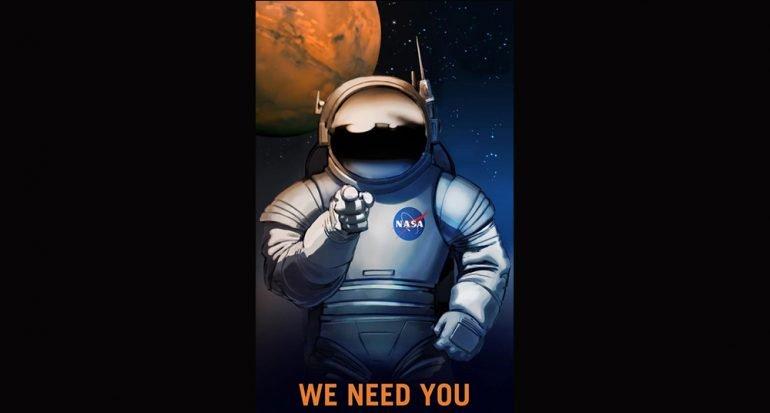 Los carteles retro de la NASA