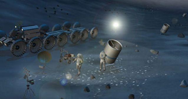Los colonizadores lunares