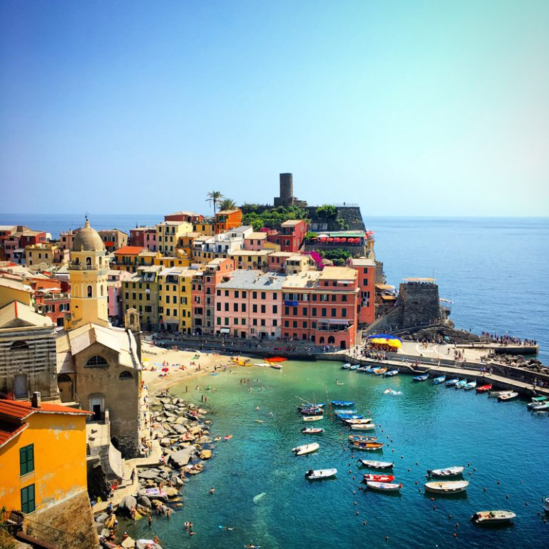 Los colores de Cinque Terre