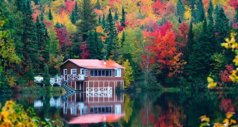 Los colores de oton?o en Quebec