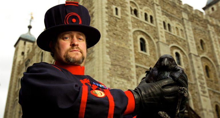 Los cuervos de la Torre de Londres estrenan casa