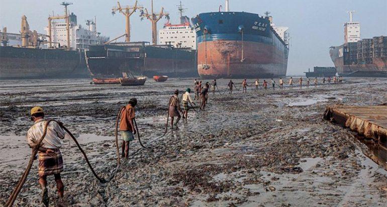 Los desmanteladores de barcos