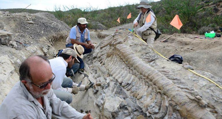 Los dinosaurios en México