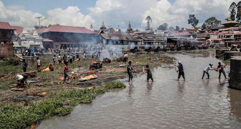 Los estragos de Nepal en 13 fotografías