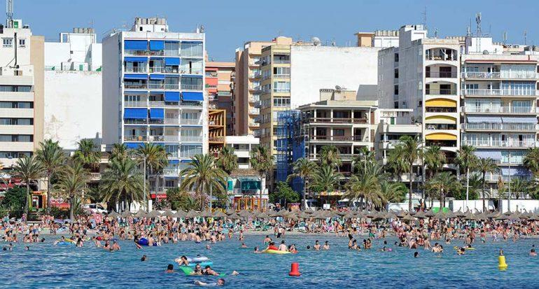Los hoteles en la bahía de Palma aumentan tarifa