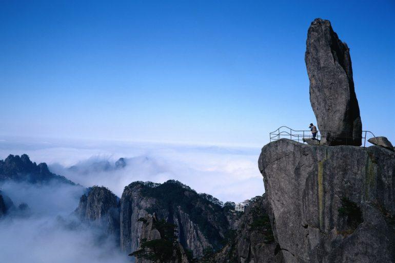 Los inspiradores montes Huangshan