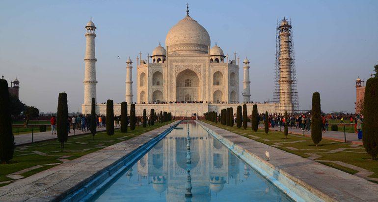 Los mejores ángulos del Taj Mahal
