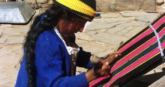 Los menores que trabajan en Bolivia