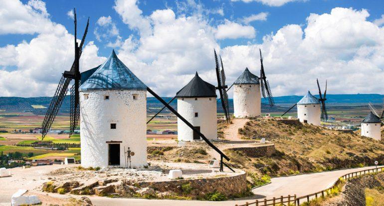 Los molinos del Quijote