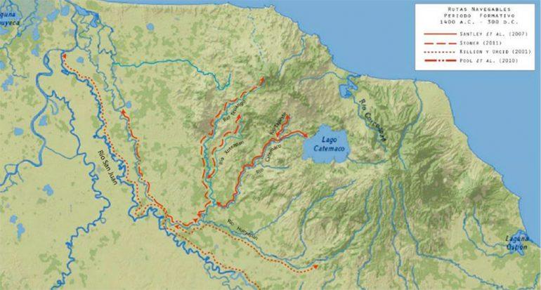 Los ríos de los olmecas