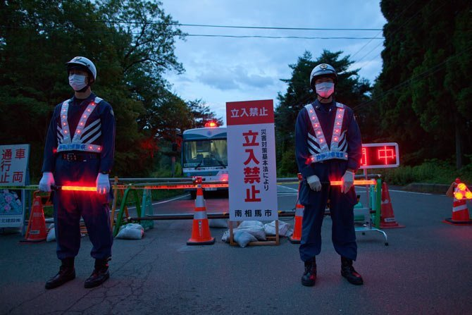 Los refugiados nucleares de Japón