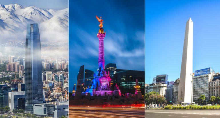 Los tres países más romántico de Lationamérica