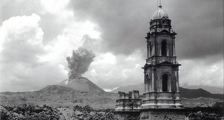 México conmemora los 75 años del nacimiento del Paricutín