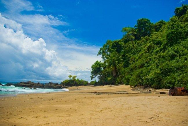 Manuel Antonio: playa orgánica