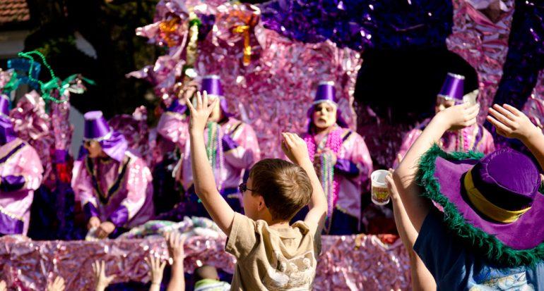 Mardi Gras en Nueva Orleans