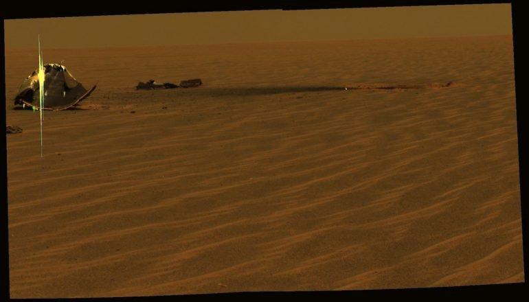 Marte en clase turista