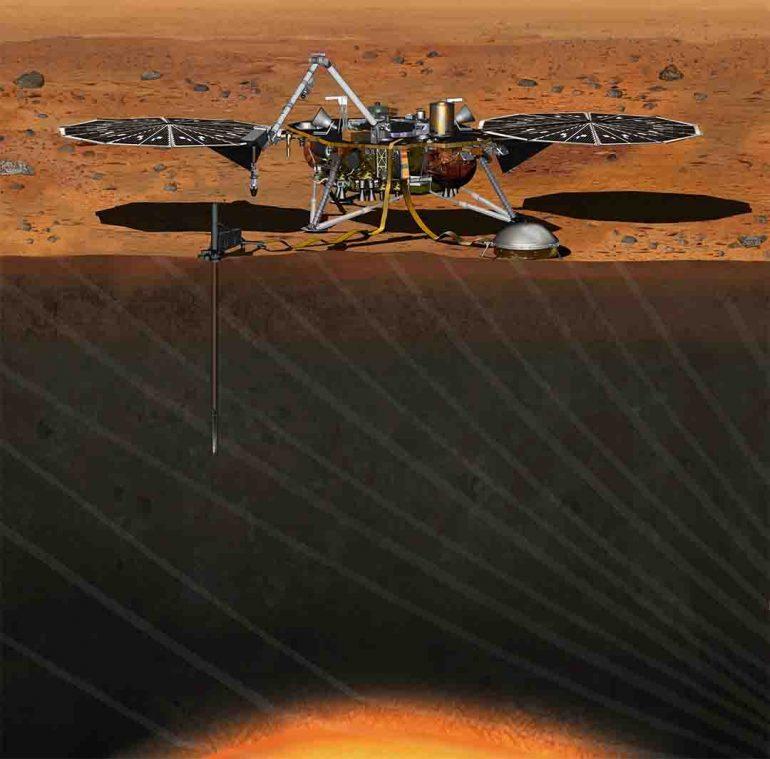 Marte y su interior