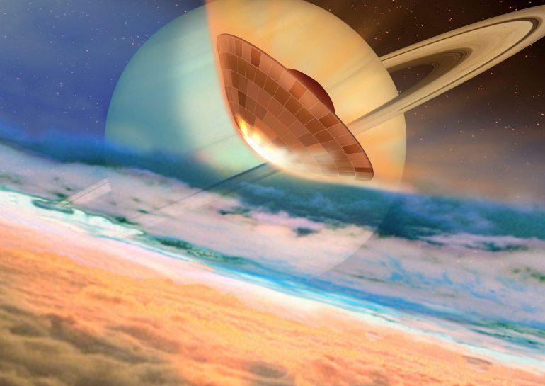 Metano en Titán