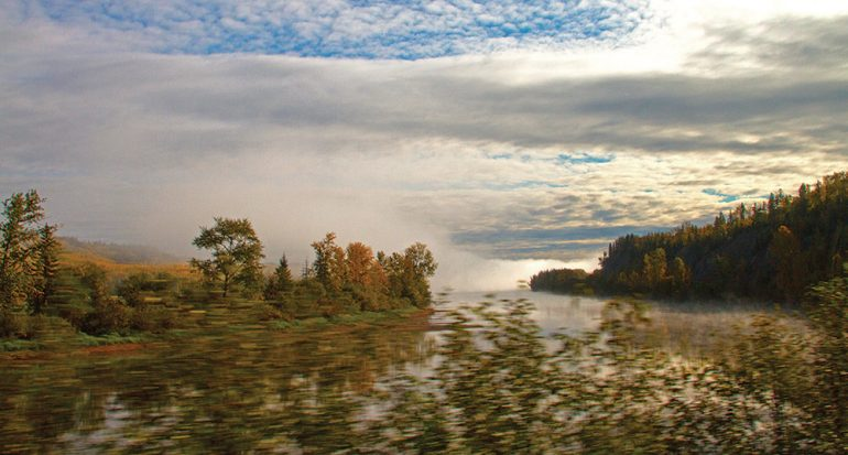 Mi foto/Lago en movimiento