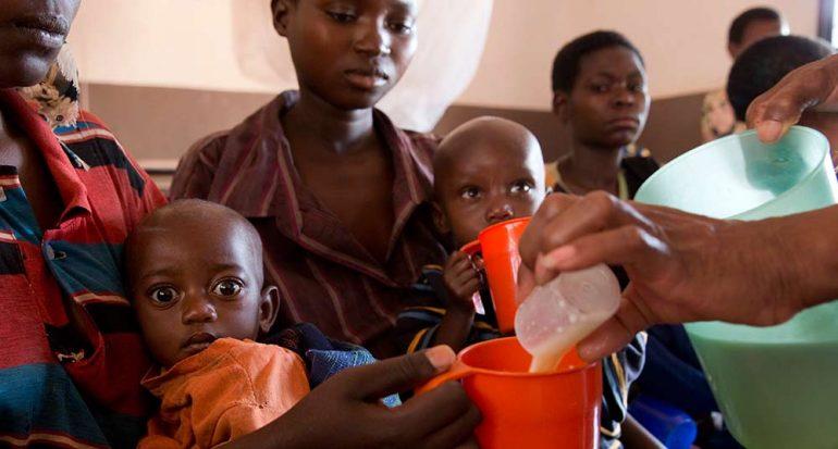 Millones de personas sin comida