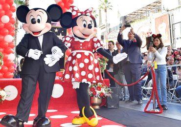 Minnie ya tiene su estrella en el Paseo de la Fama en Hollywood