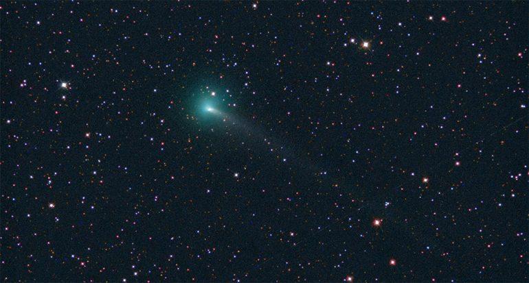 Mira el cometa que nos visitará sólo una vez