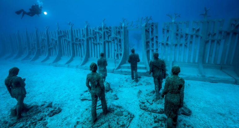 Museo bajo al agua