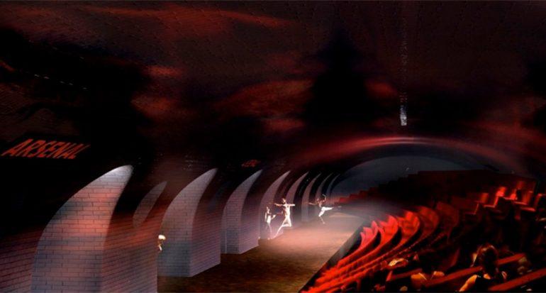 Nado o teatro en el metro de París