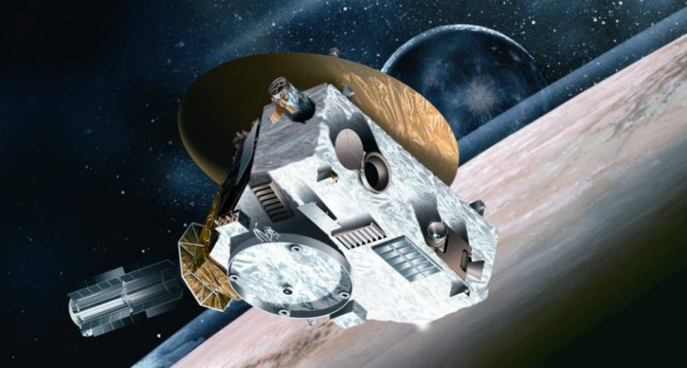 New Horizons supera falla