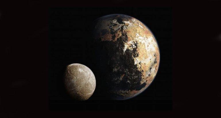 Nombres para los rasgos y las lunas de Plutón