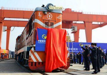 Nueva ruta entre China y Reino Unido