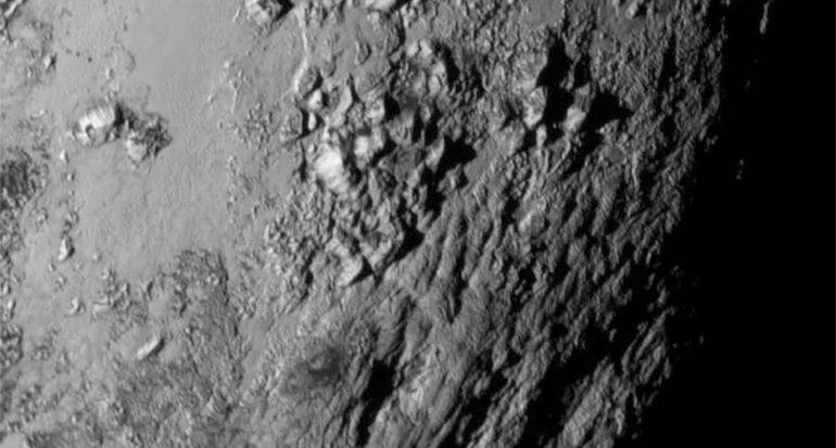 Nuevo descubrimiento: Las montañas heladas de Plutón